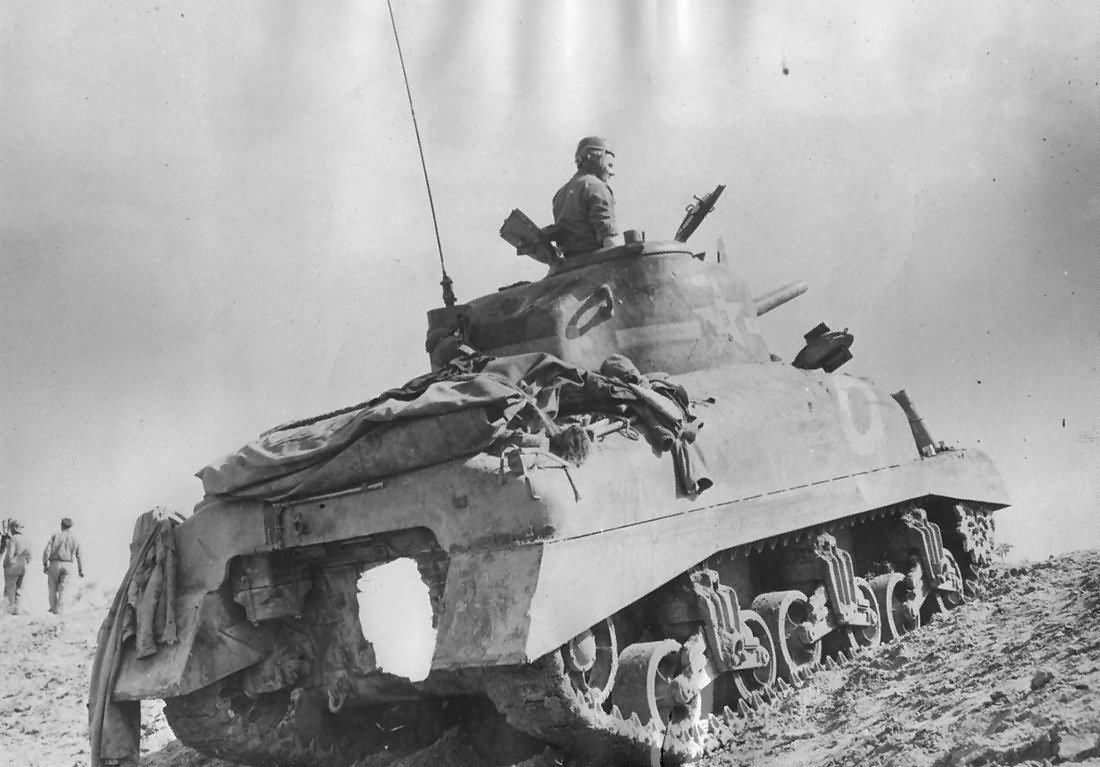 First Blood - US 1st Armored division in Tunisia