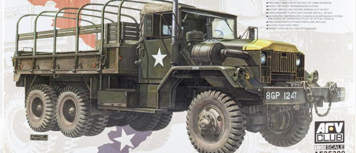 iModeler Review: AFV Club 1/35 M54A2 5-ton Truck (35300