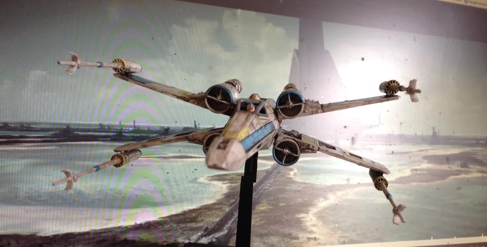 Star Wars Rogue One Blue Squadron Leader General Antoc Merric Imodeler