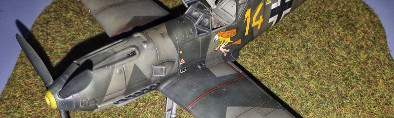 Airfix Bf 109 E1, 1/48