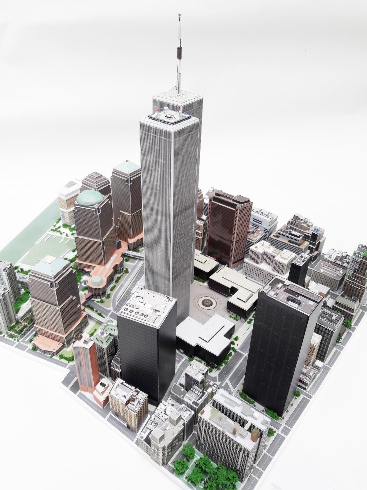 1/1500 scale WTC paper model | iModeler