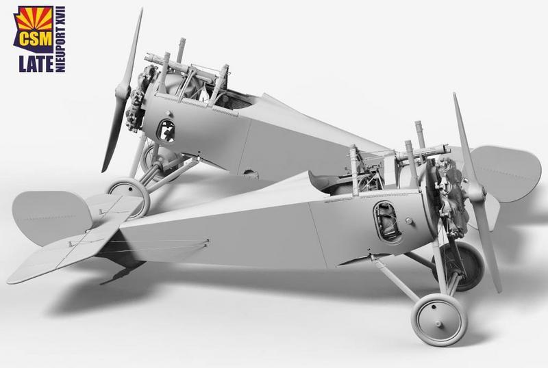 Copper State Models Decals 1//32 ITALIAN NIEUPORT XVII NATIONAL COLORS