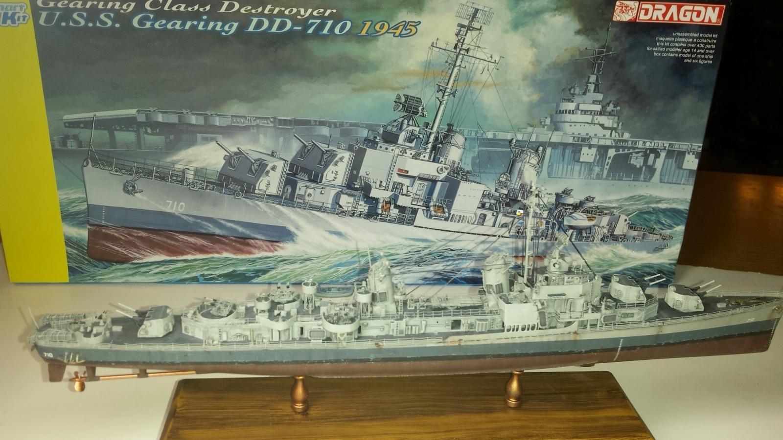 Dragon 1//350 U.S.S 1945 Gearing DD-710