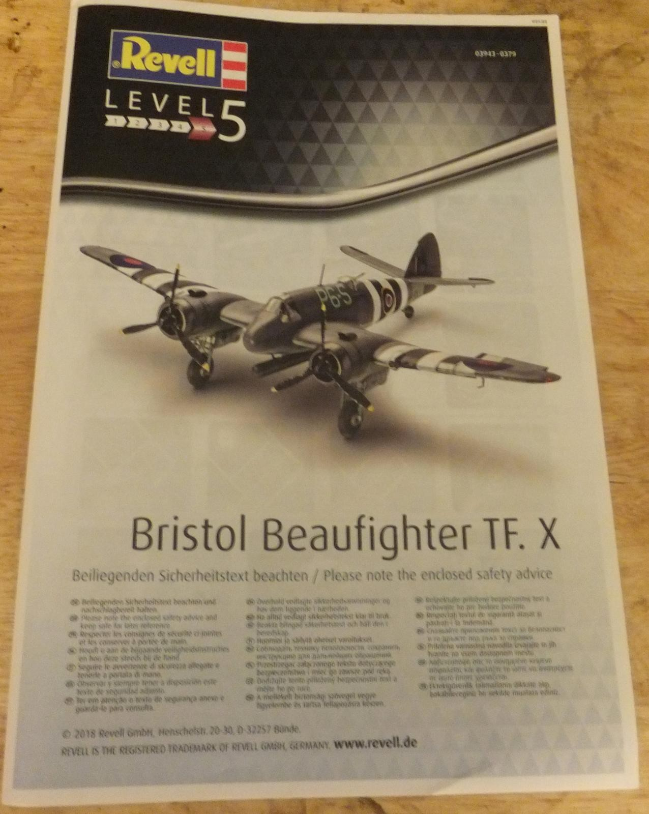 Revell 1/48 Bristol Beaufighter TF X In-box Review pt 1