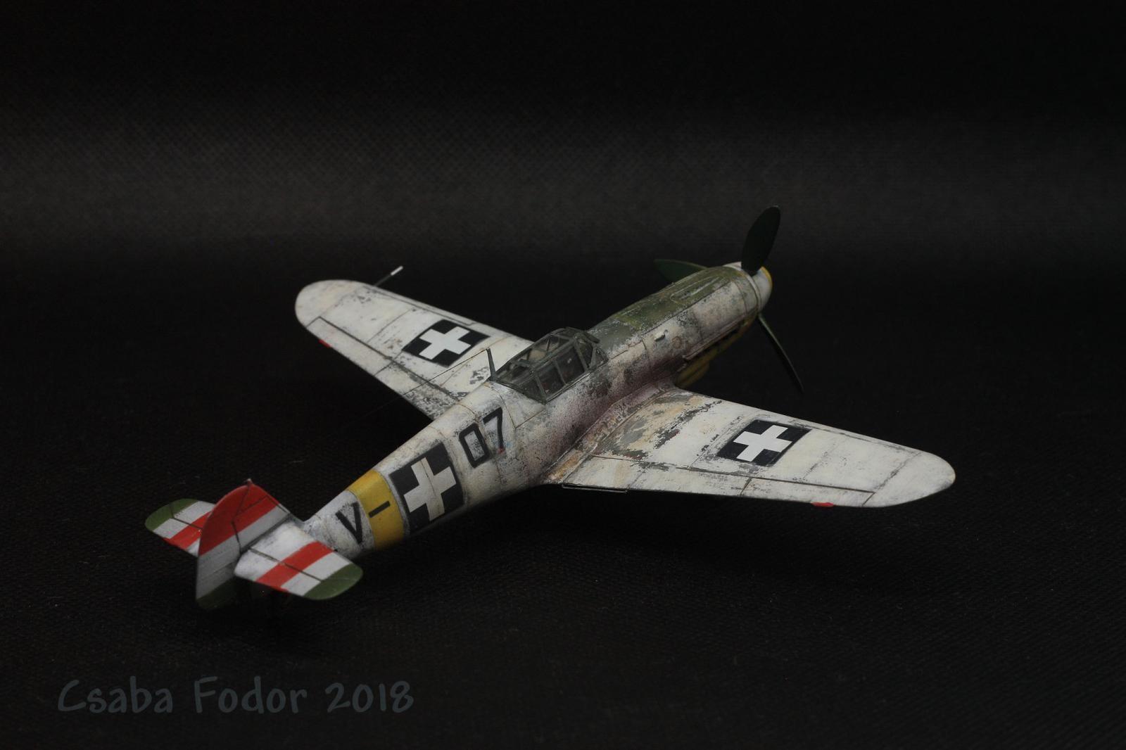 Bf-109F-4 Royal Hungarian Air Force, 1943 (AZModel, 1:72