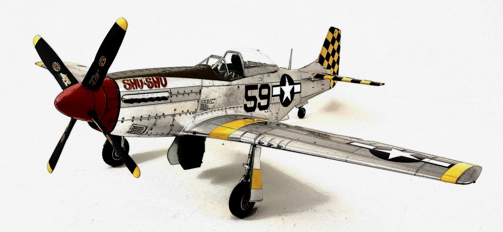 AFX05131 1:48 Airfix North American P-51D Mustang MODEL BUILDING KIT