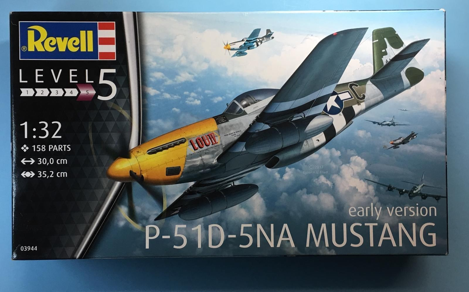 Kit Review: 1/32 scale P-51D-5NA Mustang, Revell of Germany