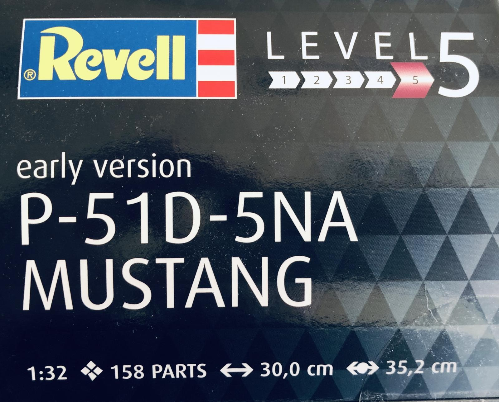 Kit Review: 1/32 scale P-51D-5NA Mustang, Revell of Germany, kit