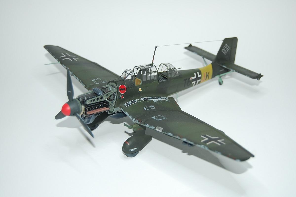 Junkers JU-87 B2 STUKA. Zvezda. - YouTube
